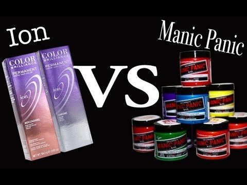 Ion VS Manic Panic Hair Dye