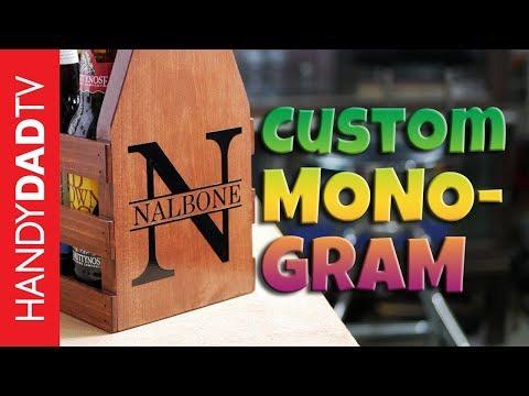 How to Make a Custom Monogram