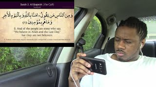 Quran : 2 Surah Al- Baqara ( The calf ) complete Arabic and English translation!!! REACTION