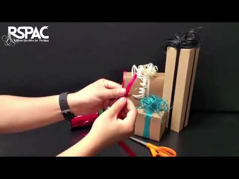 Magic Gift Wrapping Lesson - CURLING RIBBON MAGIC BOWS MAKER - How to Make A Curling Ribbon Bow?