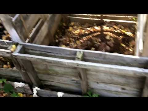 Make Easy Compost Bin From Pallets - Cheap DIY How To Build - Garden Project
