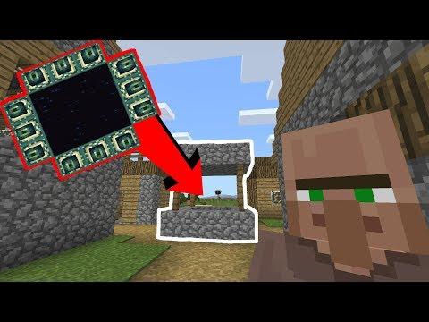 Minecraft: END PORTAL WELL SEED! (Xbox One, PE & Windows 10) - Minecraft Seed