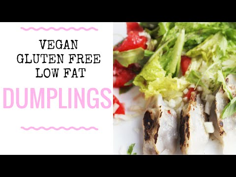 Cook with me TUESDAY: Vegan, gluten free, low fat dumplings!