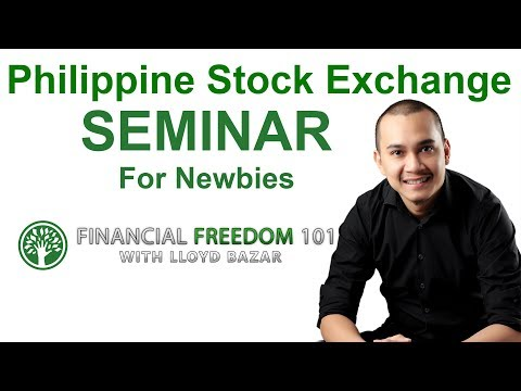 Philippine Stock Exchange Trading Seminar