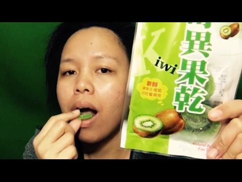 Dried kiwi fruit(first taste)