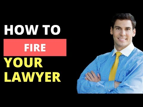 HOW TO FIRE A LAWYER in Louisiana