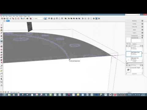 Making a Bowback Windsor Chair in SketchUp