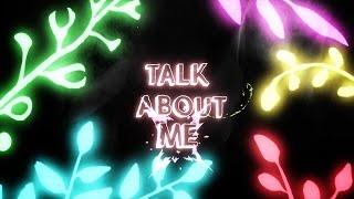 Justin Caruso - Talk About Me (ft. Victoria Zaro) [Lyric Video]
