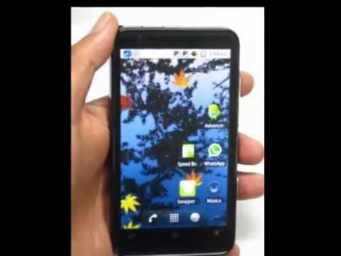 modo ingeniería y características reales de un celular android A1000 dual sim