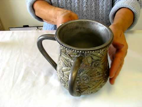 Judaica Two handle Hand Washing Cups