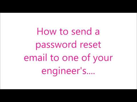 GTO: How to send a password reset email to one of your engineers