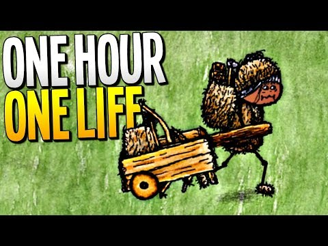 EXPLORING THE WORLD AND FINDING LOST CIVILIZATIONS - One Hour One Life Gameplay