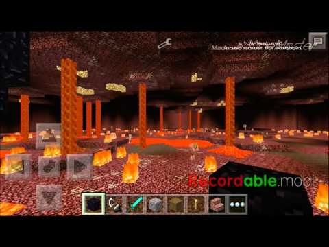 Minecraft Pe mod : portal do nether 11.1