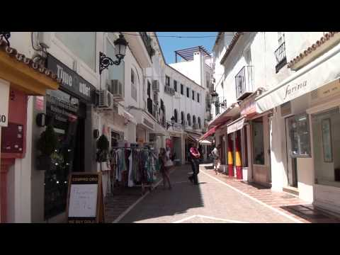 Marbella, Spain - A walking travel tour - HD 1080P