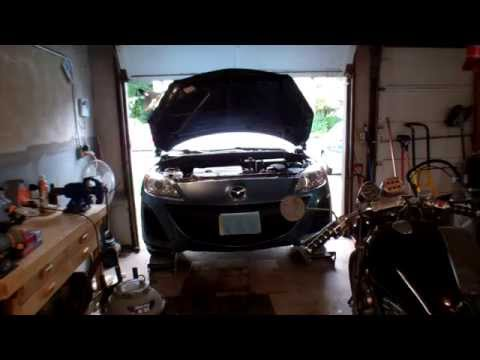 2011 Mazda 3 Automatic Transmission Oil and Filter Change