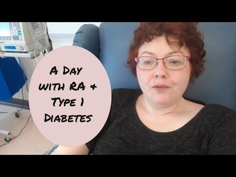 A Day with Rheumatoid Arthritis (and Type 1 Diabetes)