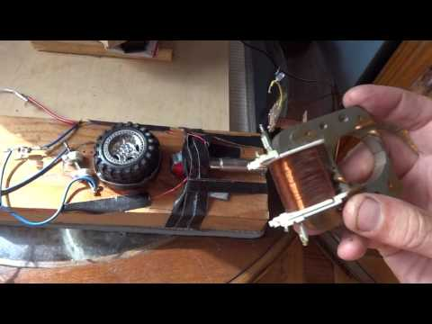 Self starting reed switch DC pulse motor