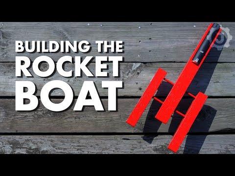 Building a Super Fast Rocket Boat