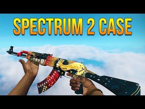 CSGO - Spectrum 2 Case All Skins Showcase