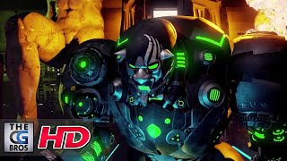 """CGI 3D Animated Short: """"Neocity Cyberpunk: """" - by Student Project"""