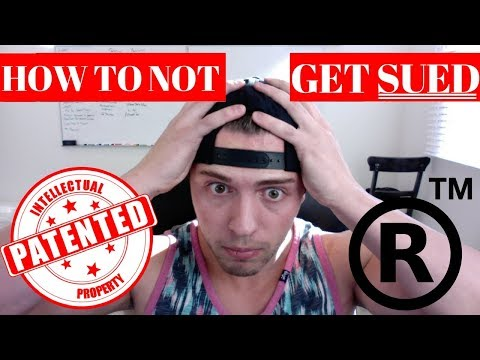 How To SIMPLY Check If A Product Is PATENTED OR TRADEMARKED!! **DONT GET SUED!**