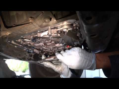 Transmission Filter Replacement and system flush (Part 1 of 2)
