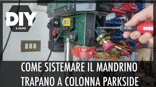 Mașină De Găurit Cu Coloană Parkside Ptbm 500 D4 Lidl