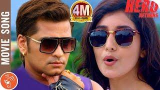 HERO RETURNS | New Nepali Movie Title Song 2018/2075 | Sabin Shrestha, Aanchal Sharma