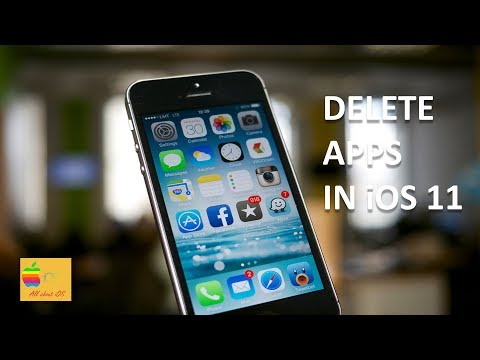 How to delete apps in iOS 11 (iPhone or iPad)