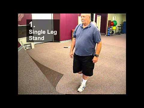 Fall Prevention Exercises (Balance Series) - Single Leg Stand
