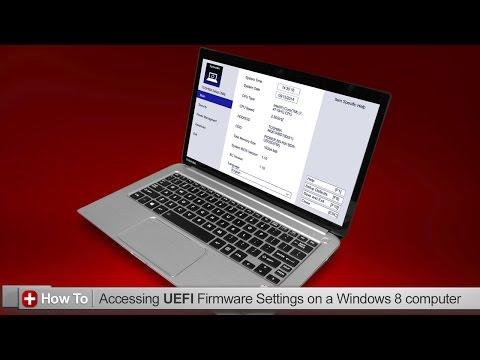 Toshiba How-To: Accessing UEFI firmware settings
