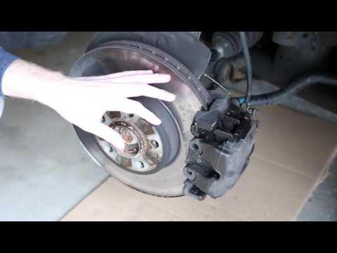 BMW Front Brake Rotors and Pads DIY E38 E39 E53