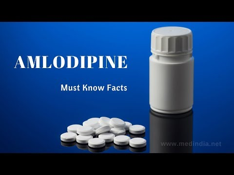 Amlodipine:  Learn More About The Drug to Treat High Blood Pressure