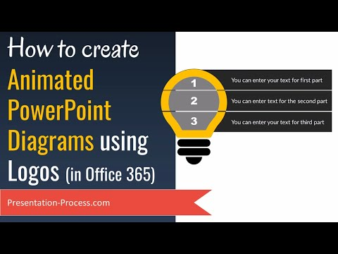 How to Create Animated PowerPoint Diagrams using Logos (Office 365)