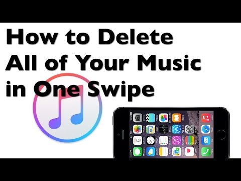 How to Delete Your iTunes Library in One Swipe