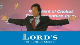 MCC Spirit of Cricket Cowdrey Lecture | Imran Khan