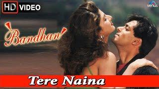 Tere Naina (HD) Full Video Song   Bandhan   Salman Khan, Rambha  