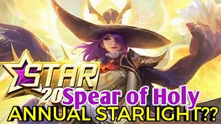 Lesley Spear Of Holy New Update | Mobile Legends