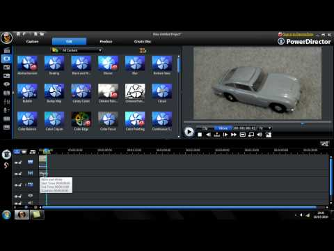 Making a Video Look Old in Cyberlink