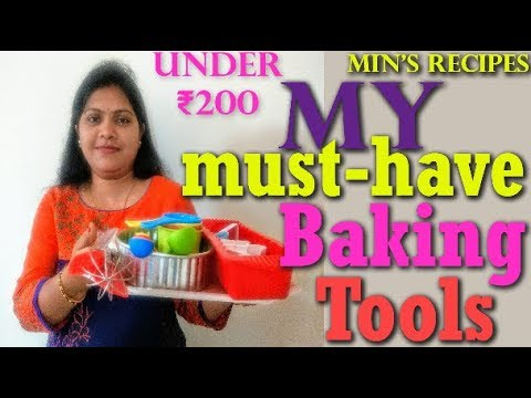 My Essential Baking Tools | Essential Basic Baking Tools For Beginners | Min's Recipes