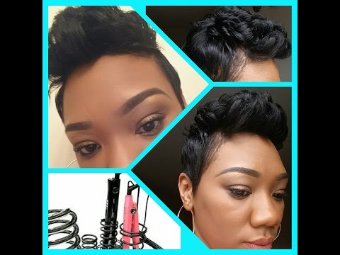 CURLING MY PIXIE - LEARN TO D.I.Y