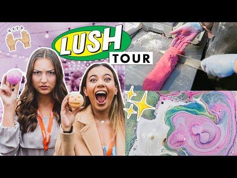 LUSH TOUR 2.0 | Making Bath Bombs