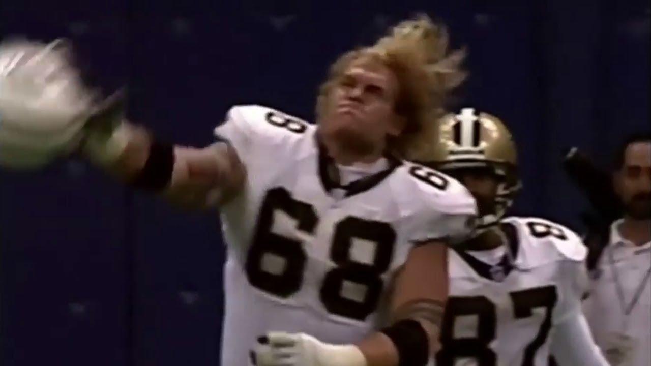 """NFL """"Flying Helmet"""" Moments"""
