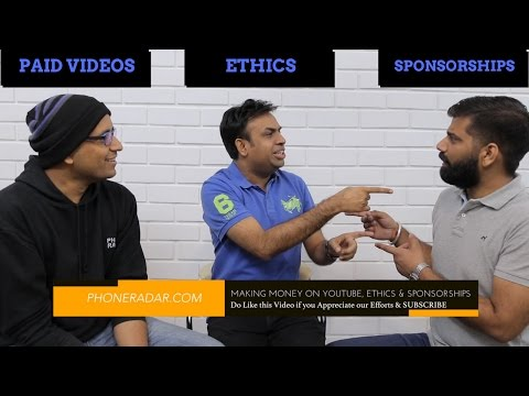 Making Money on YouTube, Ethics & Sponsorships (Ft GeekyRanjit & TechnicalGuruji)