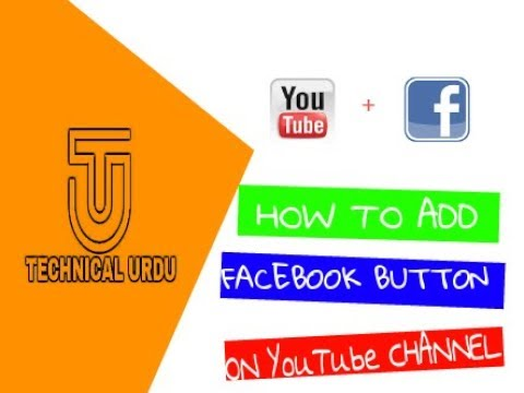 Add Facebook, website,Instagram button on YouTube channel