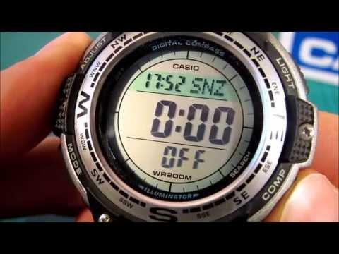 Casio Twin Sensor Digital Compass Sport Watch SGW100 1V