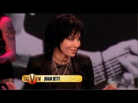 Joan Jett The Blackhearts 1072013 The View