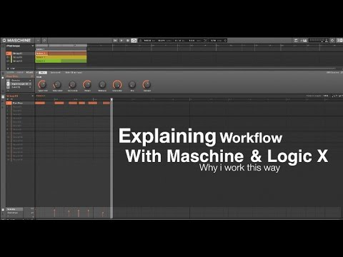 Workflow with Maschine and Logic X - Bonus creating your own sample packs
