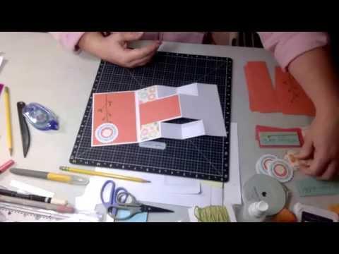 Tri Fold Shutter card Tutorial