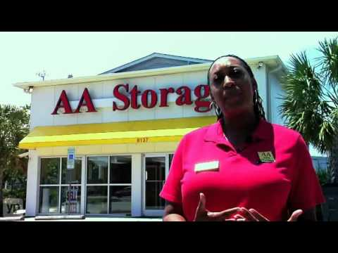 AA Self Storage | North Carolina | Raleigh | Wilmington